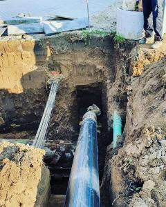 HAES Horizontálne riadené vŕtanie kanalizácie