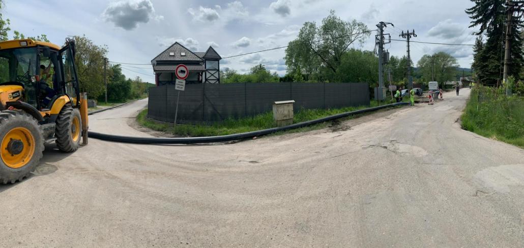 HAES - Podvrtanie rieky Hron pre vodovodné potrubie - Banská Bystrica